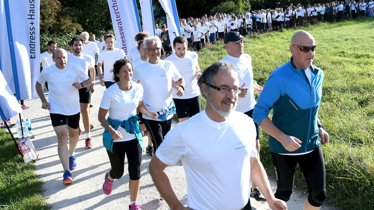 Start van de Endress+hauser Water Challenge in Reinach